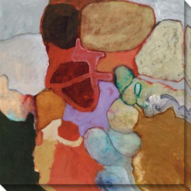 Earth Markings I Canvas Wall Art - I, Multi