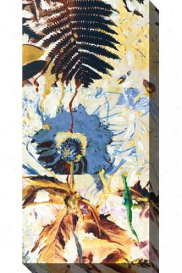 Earth Song I Canvas Wall Creation of beauty - I, Blue