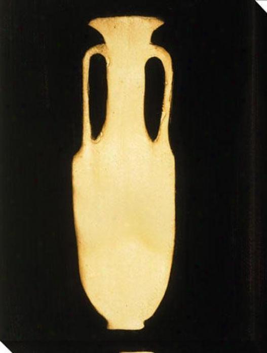 Ebony And Ivory Viii Canvas Wall Art - Viii, Black