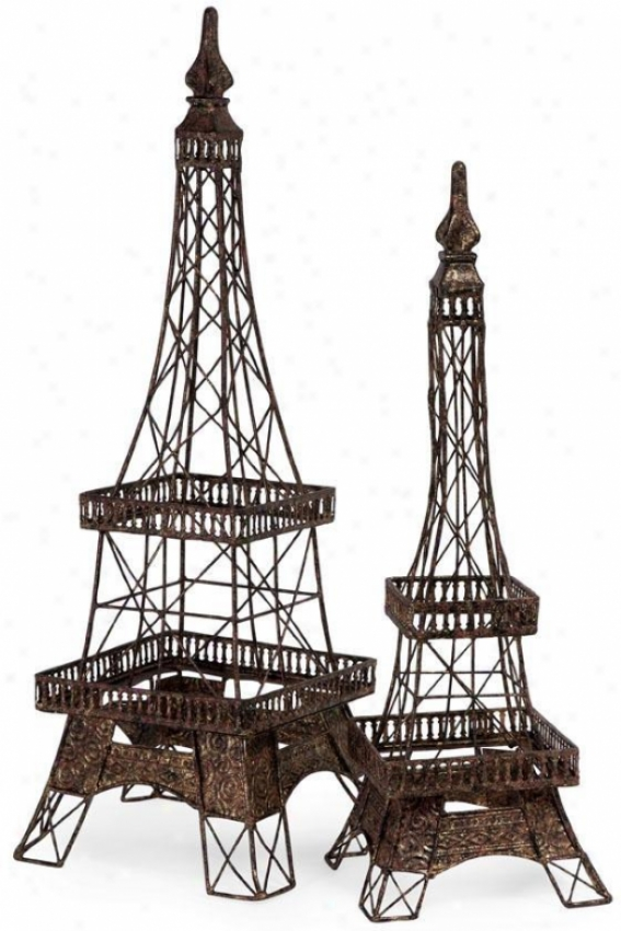 Eiffel Tower Accent - Large, Bronze