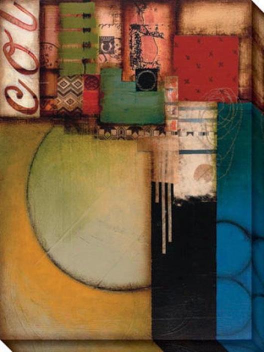 Elusive I Canvas Wall Art - I, Multi