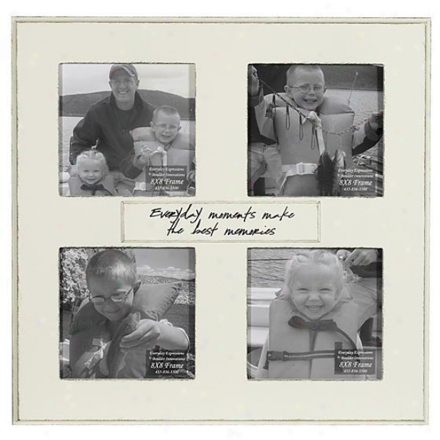 Every Day Moments Make The Best Memories Condition - 8 X 8 - 4(8x8), Ivory