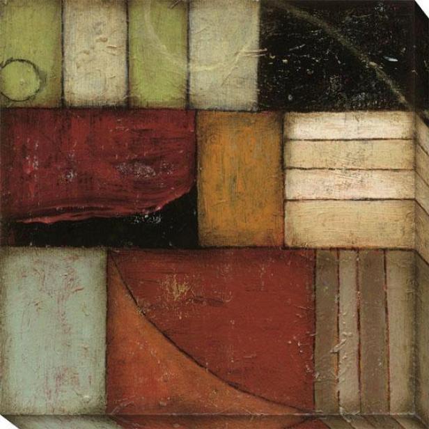 Exile I Canvas Wall Art - I, Earthtones