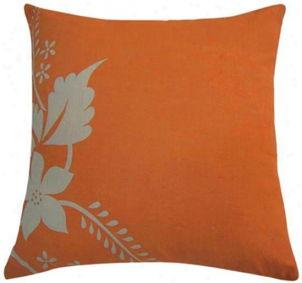 Fairborn Pillow - 18x18, Orange