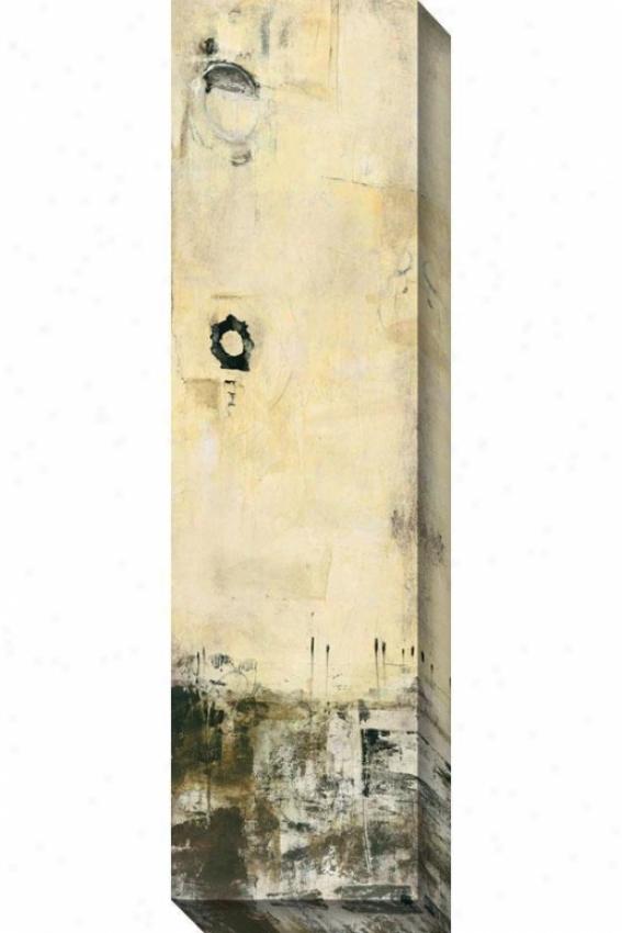 Fallingg Grace I Canvas Wall Art - I, White