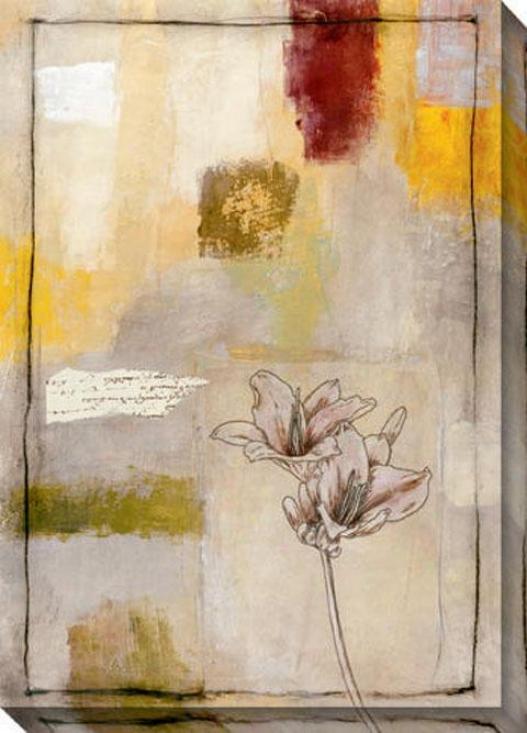 Plants Iii Canvas Wall Art - Iii, Ivory