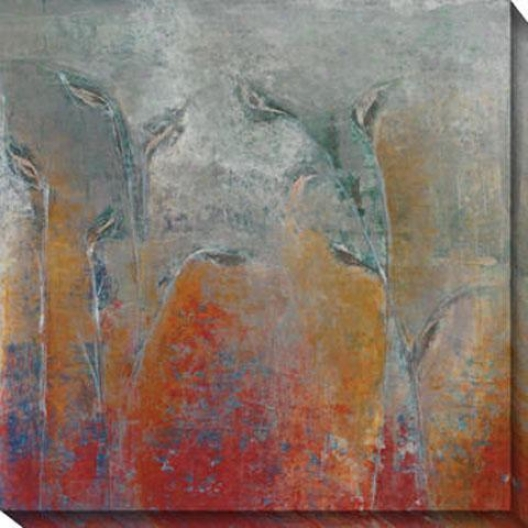 Garden I Canvas Wall Art - I, Blue