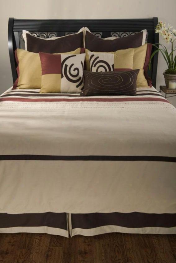 Garrison Bedding Set - Queen 9pc Set, Beige