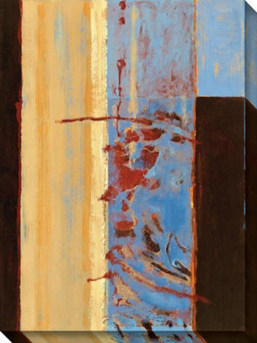 Grace I Canvas Wall Art - I, Gold