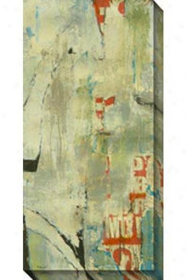 Grafitti I Canvas aWll Art - I, Gray