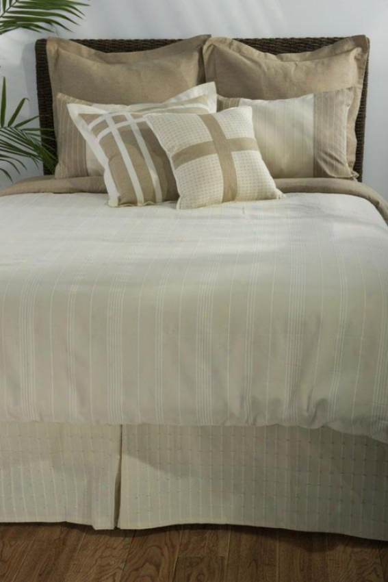 Groveport Beddig Set - Cal King 9pc St, Beige