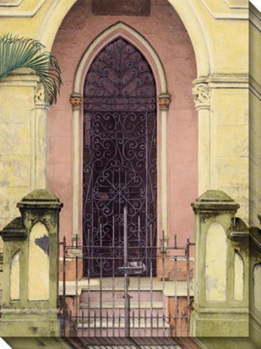 Habana Puerta Iii Canvas Wall Art - Iii, Yellow