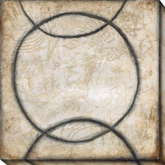 Harmony And Comparison Iil Canvas Wall Art - Iii, Black