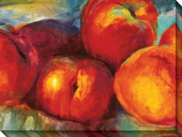 """""""heaven Scent Canvas Wall Art - 44""""""""hx36""""""""w, Red"""""""
