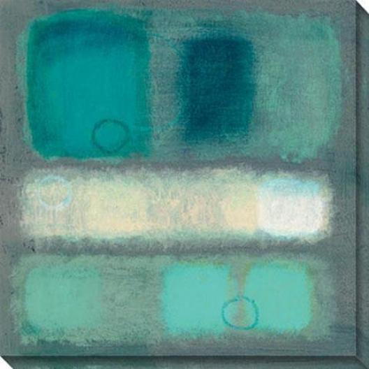 Illusion I Canvas Wall Art - I, Blu