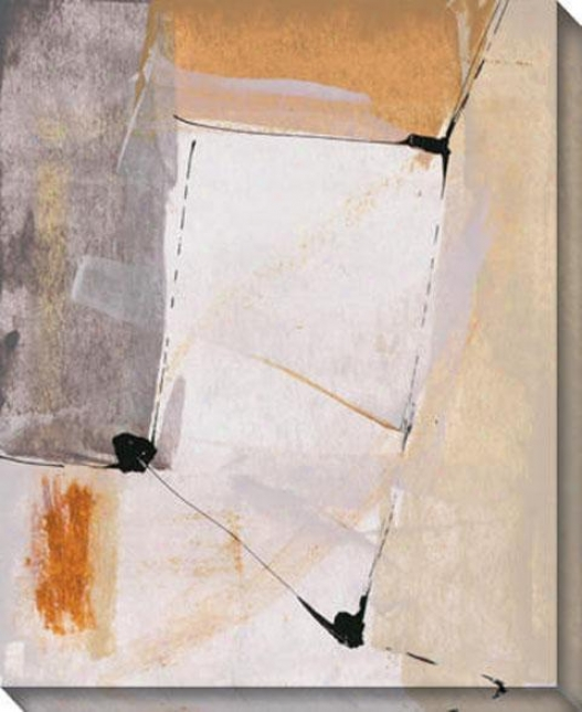 """""""implied Point Of View Canvas Wall Practical knowledge - 36""""""""hx44""""""""w, Cream"""""""