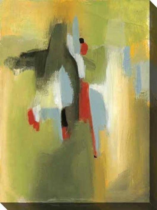 In An Instant Ii Canvas Wall Art - Ii, Green