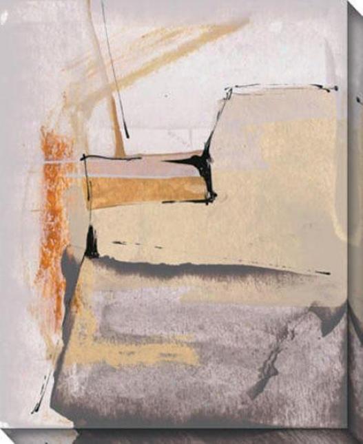 """""""indirect Prototype Canvas Wall Art - 36""""""""hx44""""""""w, Gray"""""""