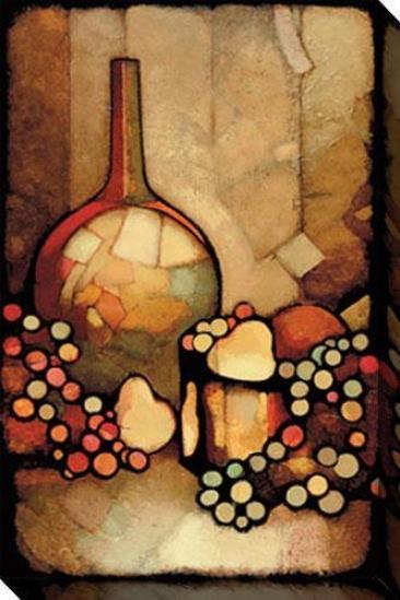 Infatuayion I Canvas Wall Art - I, Brown