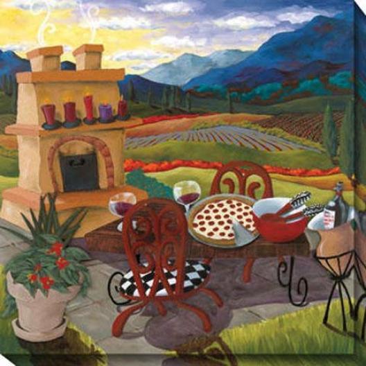"""""""italian Kitchen Canvas Wall Trade - 40""""""""hx40""""""""w, Multi"""""""