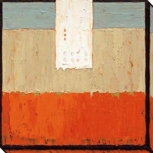 Just Because I Canvas Wall Art - I, Orange