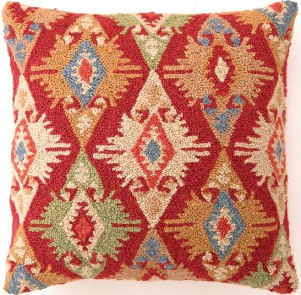 Kilim Hooked Pillow - Version Ii, Multi