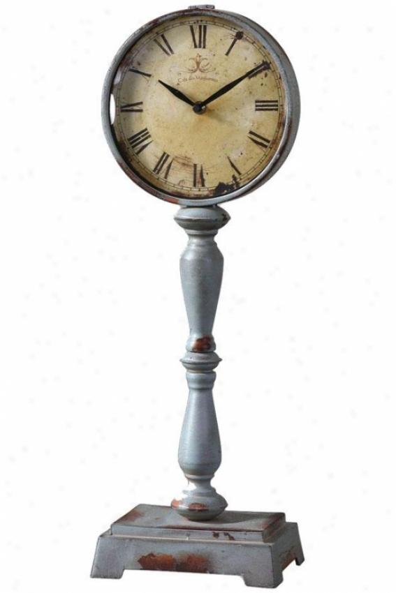 """""""lamoine oCttage Clock - 22.5 X 8 X 5"""""""", Old Ivry/bl"""""""