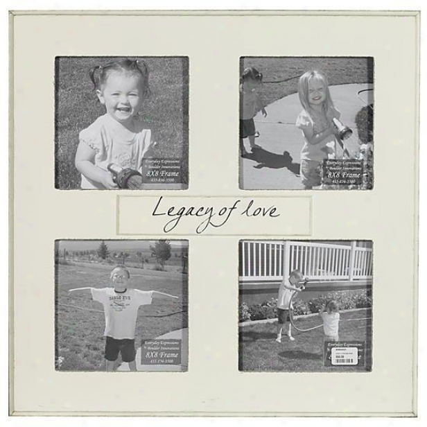 Legacy Of Love Frame - 8 X 8 - 4(8x8), Ivory