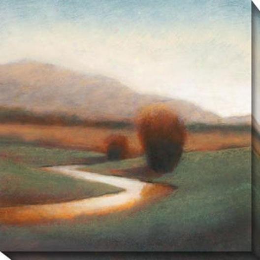 Majestic Vista I Canvas Wall Art - I, Earthtones