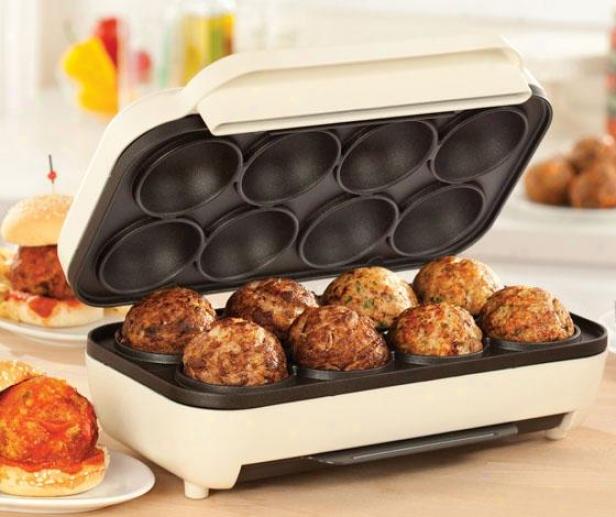 """""""meatball Maker - 8""""""""hx5""""""""wx9""""""""d, Almond"""""""