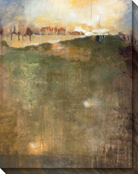 Microcosm I Canvas Wall Art - I, Brown