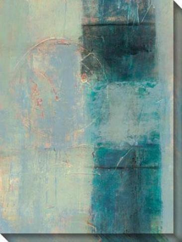 Mind's Eye I Canvas Wall Art - I, Blue