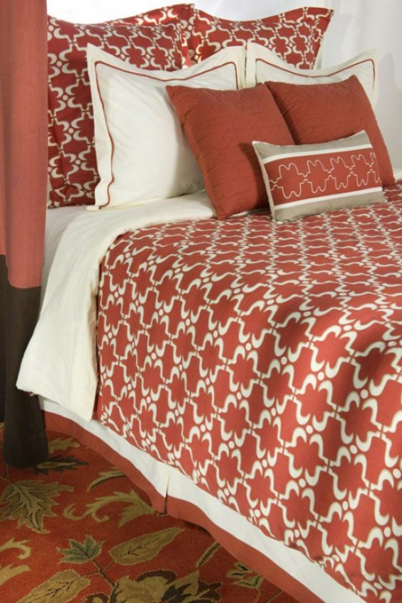 Mirianna Bedding Set - California King, Copper