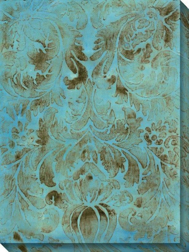 Modal Vij Canvas Wall Art - Vii/blue, Multi