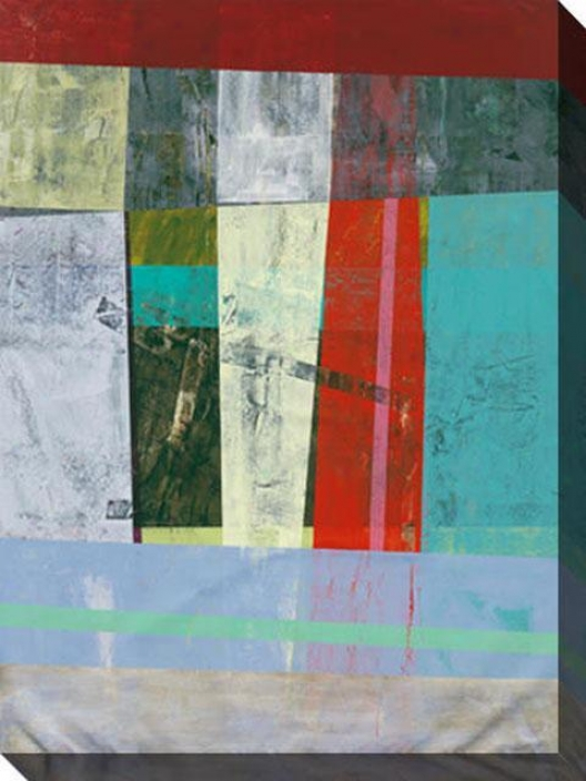 Modern Ways Of Living Ii Canvas Wall Art - Ii, Multi