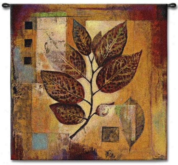 """modernist Autumn Tapestry - 53""""hx53""""w, Multi"""