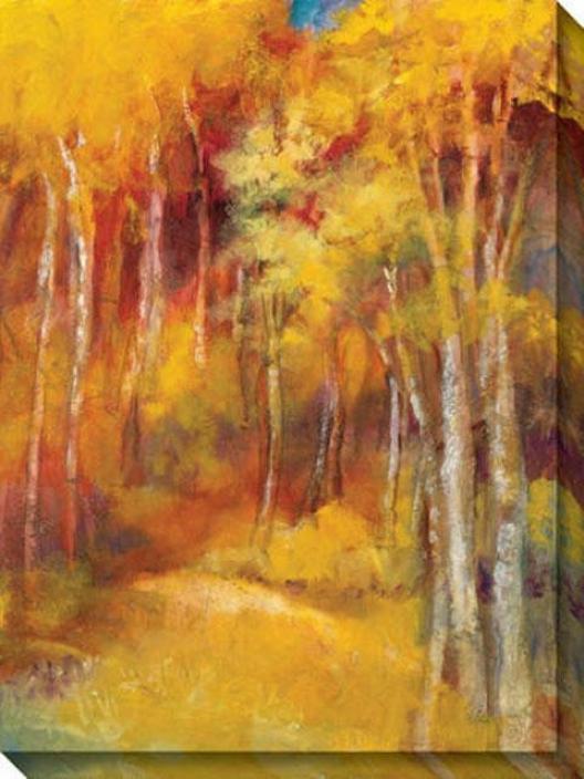 Mountain Memories I Canvas Wall Art - I, Yelloww