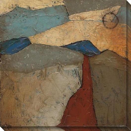 Mountainous I Canvas Wall Art - I, Multi