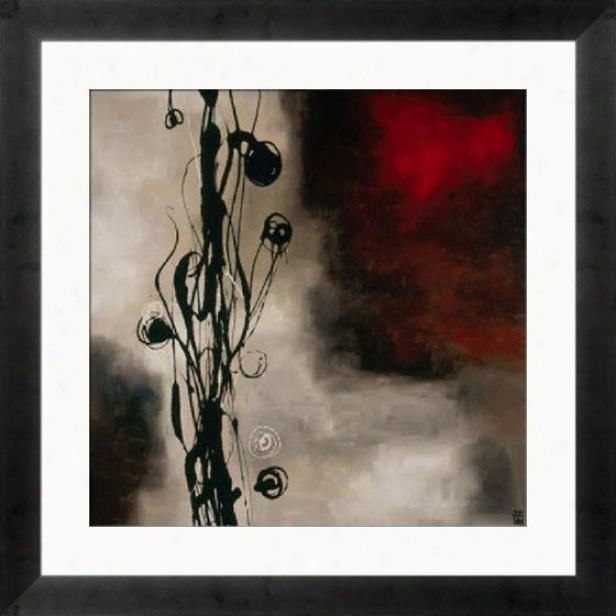 """musical Ideas Framed Wall Art - 33""""hx33""""w, Mtte Bk Cube Fm"""