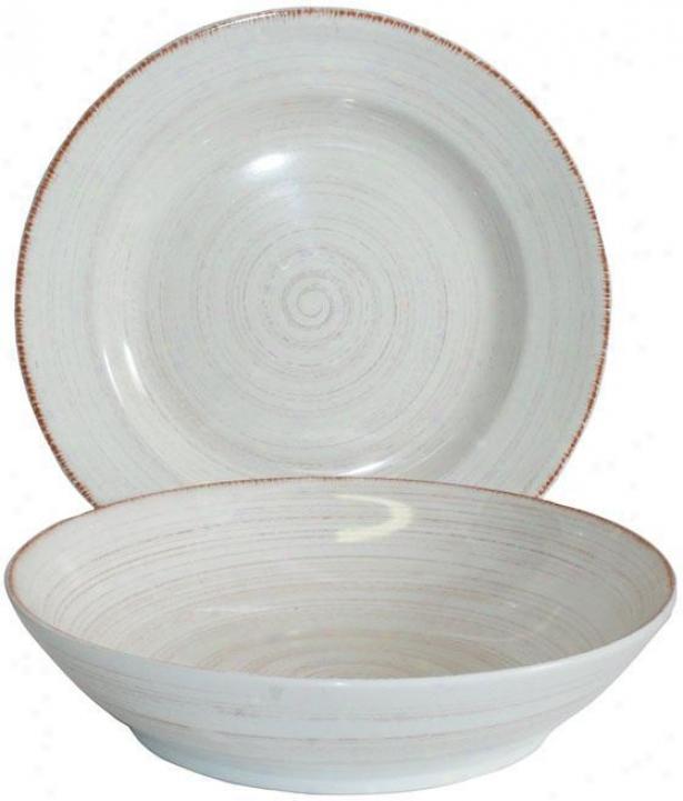 Napa 2-piece Serving Set - Set Of 2, Ivory