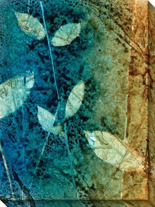 Natural Selection Ii Canvaa Wall Art - Ii, Blue