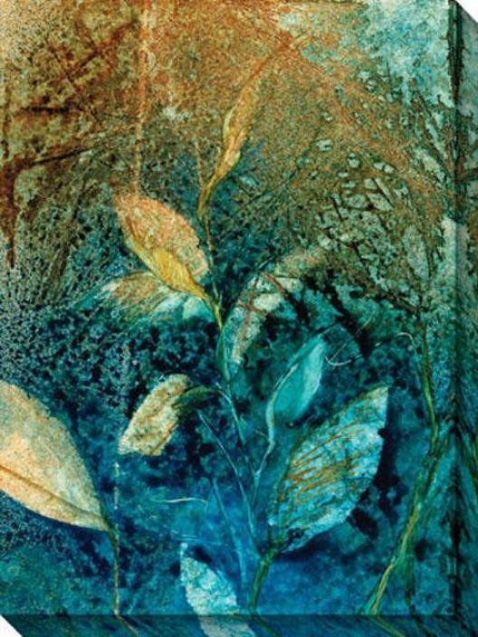 Natural Selection Iii Canvas Wall Art - Iii, Blue