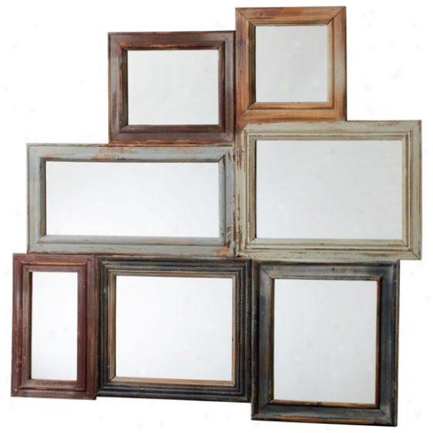 """oakville Mirror - 36""""hx38""""w, Multi"""