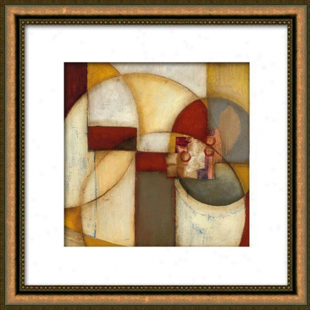 Outer Reaches I Framed Wall Ar t- I, Matted Gold