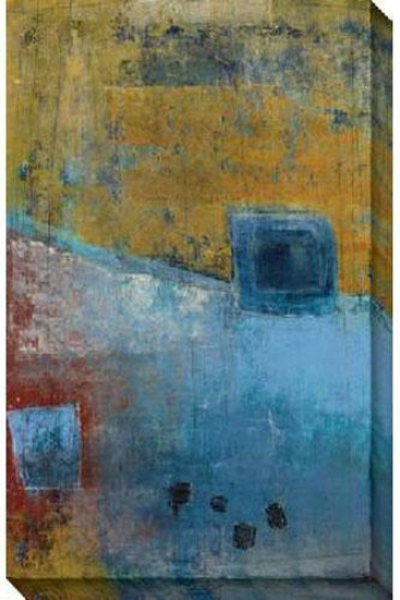 Pacific Side I Canvas Wall Cunning - I, Blue