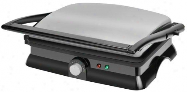 Panini Press - 5.13hx13.25wx13, Black/stainless