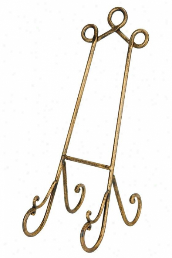 """parlour Golden Easel - 19""""h, Golden"""