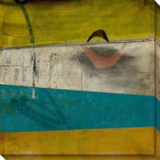 Peculiar Disposition Ik Canvas Wall Art - Ii, Green