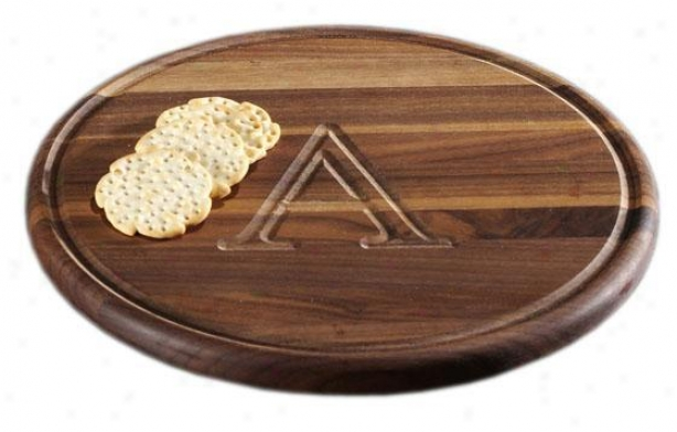 Port Cutting Board - Walnur, L