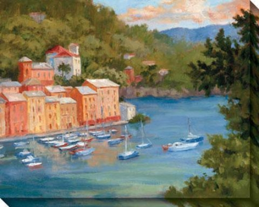 Portofino Summer Ii Canvas Wall Skill - Ii, Multi